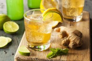 Receita de Ginger Ale