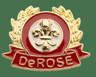 Distintivo de aluno do DeROSE Method